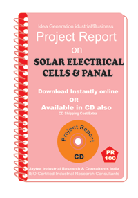 Solar Electrical Cells and Panal Manufacturing eBook