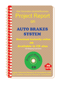 Auto Brakes System manufacturing Project Report eBook