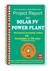 Solar PV Power Plant Project Report ebook