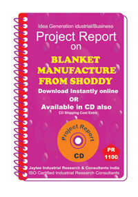 Blanket manufacture From shoddy Project Report eBook