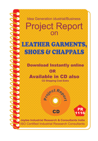 Leather Garments , Shoes and Chappals (EOU) manufacturing ebook
