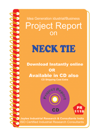 Neck Tie manufacturing Project Report ebook