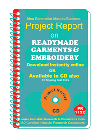 Ready made Garments and Embroidery manufacturing ebook