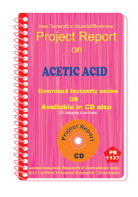 Acetic Acid manufacturing Project Report ebook