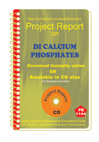 DI Calcium Phosphates manufacturing Project Report ebook