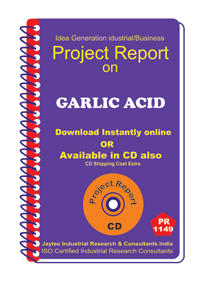 Garlic Acid manufacturing Project Report ebook
