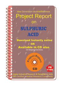 Sulphuric Acid manufacturing project Report ebook
