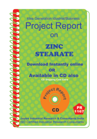 Zinc Stearate manufacturing project Report ebook