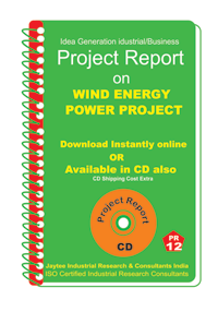 Wind Energy Power Project establishment Project Report (eBook)