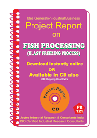 Fish Processing (Blast Freezing Process) Project Report eBook