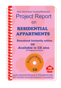 Residential Appartments establishment Project Report ebook