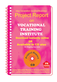 Vocational Training Institute establishment Project Report ebook