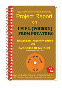 IMFL (Whisky) From Potato Manufacturing Project Report eBook