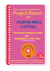 Flour Mill (Atta ) B manufacturing Project Report eBook