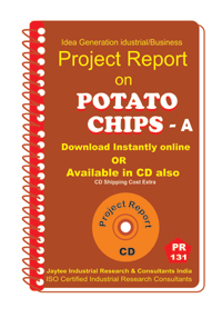 Potato Chips manufacturing Project Report eBook