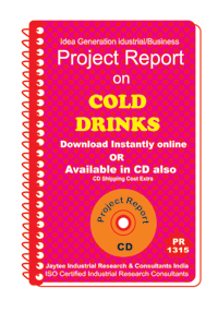 Cold Drinks manufacturing Project Report eBook