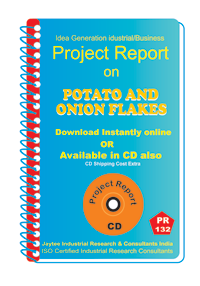 Potato and Onion Flakes manufacturing Project Report eBook