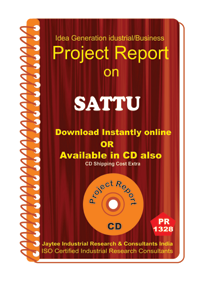 Sattu manufacturing Project Report eBook