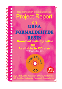 Urea Formal Dehyde Resins manufacturing Project Report eBook