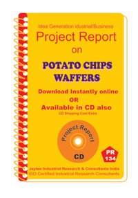 Potato Chips Waffers I manufacturing Project Report eBook
