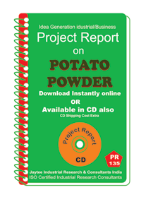 Potato Powder manufacturing Project Report eBook