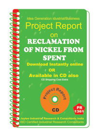 Reclamation of Nickle from Spent manufacturing eBook