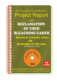 Reclamation of used Bleaching Earth manufacturing eBook