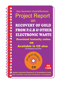 Recovery of Gold from p.c.b and other Electronic waste eBook