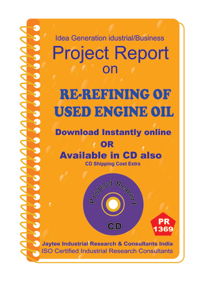 Re-Refining of Used Engine Oil Project Report eBook