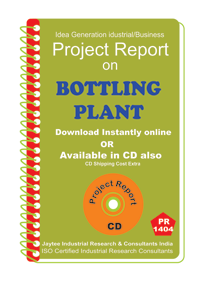 Bottling Plant manufacturing Project Report eBook