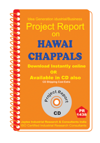 Hawai Chappals manufacturing Project Report eBook