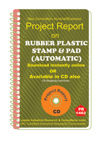 Rubber Plastic Stamp and Pad (Automatic) Project Report eBook