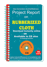 Rubberised Cloth manufacturing Project Report eBook