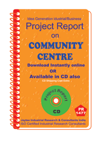 Community Centre establishment Project Report eBook