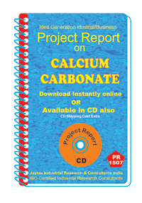 Calcium Carbonate manufacturing Project Report eBook