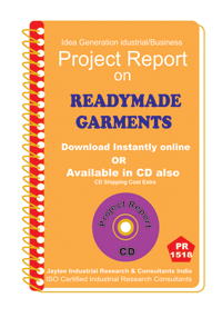 Ready Made Garments manufacturing project Report eBook