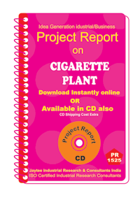 Cigarette Plant manufacturing project Report eBook