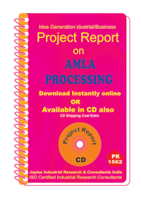 Amla Processing manufacturing project Report eBook