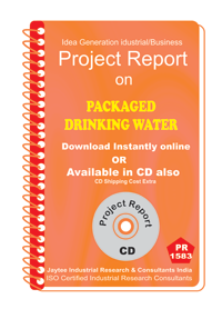 Packaged Drinking Water manufacturing Project Report eBook