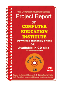 Computer Education Institute establishment Project Report eBook
