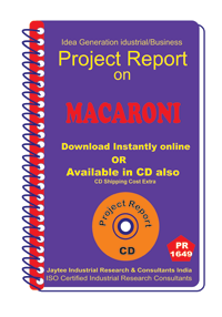 Macaroni manufacturing Project Report eBook