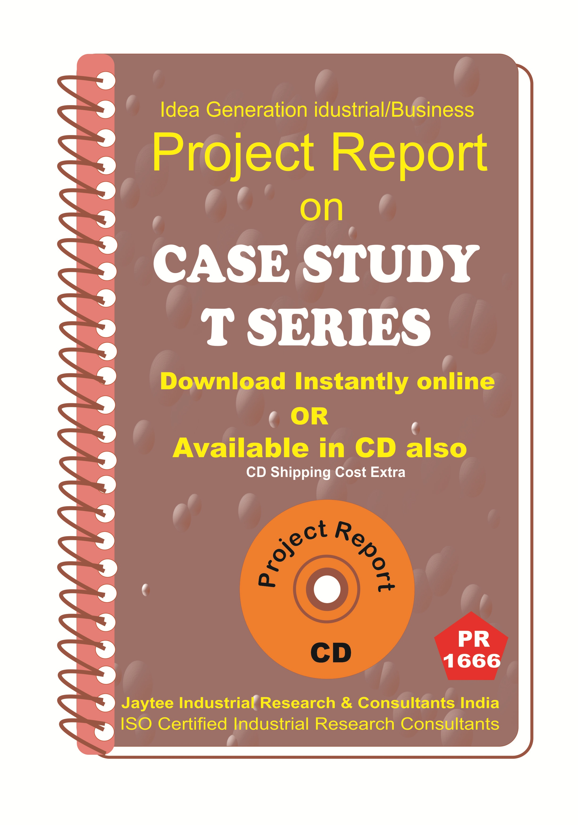 Case Study T Series Project Report eBook