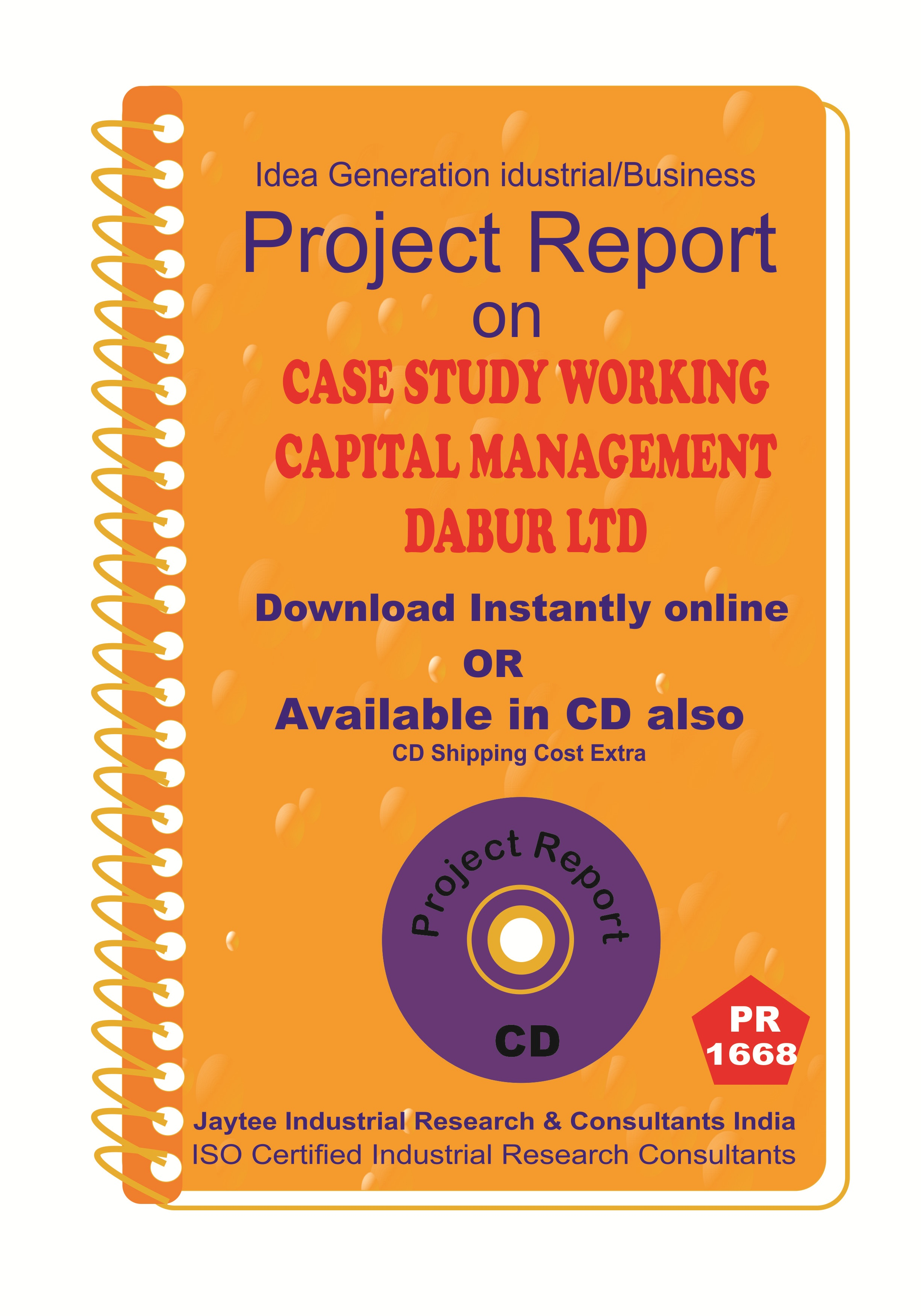 Case Study Working Capital Management Dabur Limited PR eBook