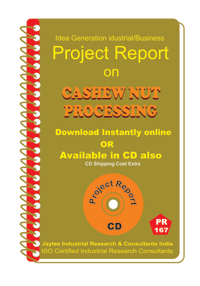 Cashew Nut Processing manufacturing Project Report eBook
