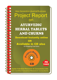 Ayurvedic Herbal Tablets and Churns manufacturing eBooK