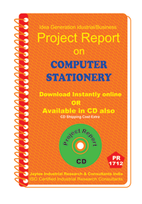 Computer Stationery and Offset Printing Project Report eBooK
