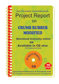 Crumb Rubber Modified manufacturing Project Report eBooK