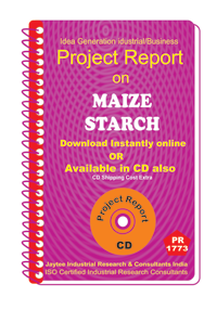 Maize Starch manufacturing Project Report eBook