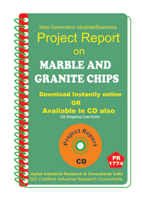 Marble and Granite Chips manufacturing Project Report eBook
