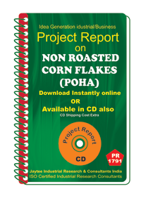 Non Roasted Corn Flakes (Poha) manufacturing eBook
